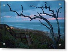 Emerald Isle Obx - Blue Hour - North Carolina Summer Beach Acrylic Print