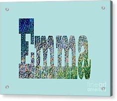 Emma Acrylic Print