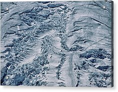 Emmons Glacier On Mount Rainier Acrylic Print