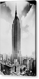 Empire State Building, 102 Stories, 1960 Acrylic Print