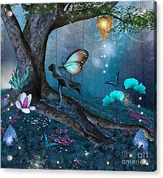 Enchanted Tree In The Middle Of The Acrylic Print