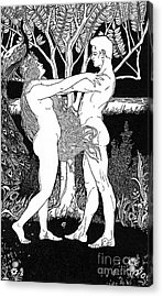 Ephraim Moses Lilien Illustration Of The Song Of Yehuda Acrylic Print
