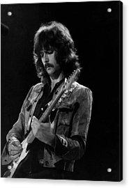 Eric Clapton On Concert Around 1970 Acrylic Print
