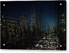 Escape From New York Acrylic Print