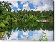 Euchee Creek Park - Grovetown Trails Near Augusta Ga 1 Acrylic Print