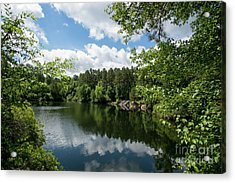 Euchee Creek Park - Grovetown Trails Near Augusta Ga 2 Acrylic Print
