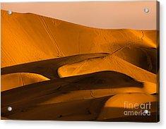 Eureka Dunes Area, Death Valley Acrylic Print