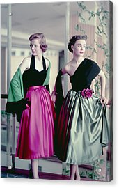 Evening Chic Acrylic Print by Hulton Archive