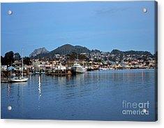 Evening In Morro Bay Acrylic Print