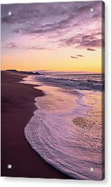 Acrylic Print featuring the photograph Evening On Gleneden Beach by Whitney Goodey