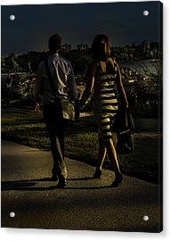 Evening Walk Acrylic Print