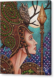 Exalted Beauty Athena Acrylic Print