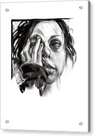 Exhaustion Acrylic Print