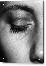 Eye, Closed  Acrylic Print