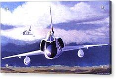 F-106a Head-on Acrylic Print