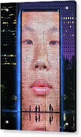 Face Of The Future Acrylic Print