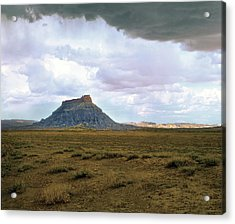 Factory Butte Acrylic Print