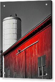 Fading Barn Acrylic Print