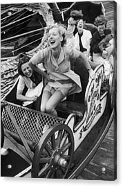 Fair Fun Acrylic Print by Kurt Hutton