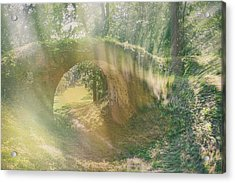 Fairytale Bridge. Kachanivka, 2017. Acrylic Print
