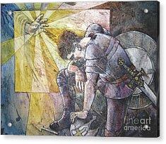 Faithful Servant Acrylic Print