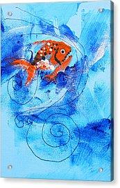 Fake Nemo Fish Acrylic Print