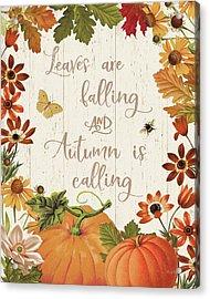 Fall Garden IIi V2 Acrylic Print by Katie Pertiet