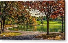 Fall In Montreal Acrylic Print