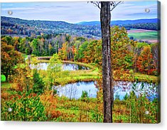 Acrylic Print featuring the photograph Fall Memories At The Ponds by Lynn Bauer