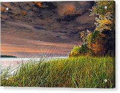 Fall On Lake Superior Acrylic Print