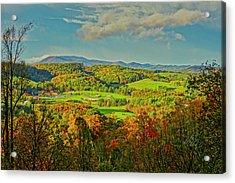 Fall Porch View Acrylic Print