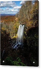 Acrylic Print featuring the photograph Falling Spring Falls by Pete Federico