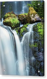 Acrylic Print featuring the photograph Falls Creek Falls by Nicole Young