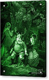Falstaff , Mrs Ford And Mrs Page Acrylic Print