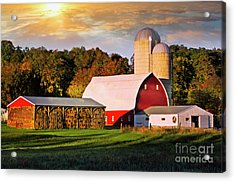 Acrylic Print featuring the photograph Family Farm by Scott Kemper
