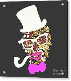 Fanfare The Clown Acrylic Print