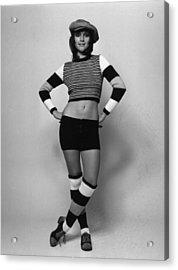 Fashion Stripes Acrylic Print by Evening Standard