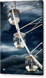 Ferris  Big Wheel, Bournemouth. Acrylic Print
