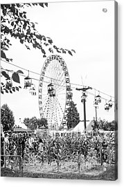 Acrylic Print featuring the photograph Ferris Wheel by Whitney Leigh Carlson