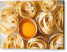 Fettuccine Pasta Italian Food Still Acrylic Print
