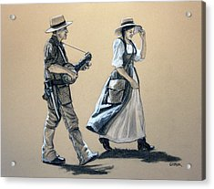 Fiddler's Daughter Acrylic Print