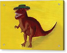 Fies-t-rex Acrylic Print
