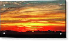 Acrylic Print featuring the photograph Final Glimpses by Rick Furmanek