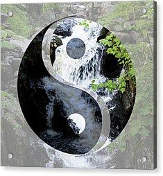 Find Your Balance Acrylic Print