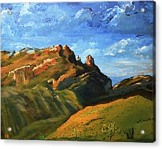Finger Rock Splendor  Acrylic Print