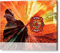 Fire Fighting 1 Acrylic Print