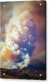 Acrylic Print featuring the photograph Fire Power by Lynn Bauer