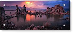 Acrylic Print featuring the photograph Fireball by Edgars Erglis