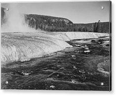 Firehole River, Yellowstone National Acrylic Print by Buyenlarge