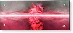 Firestorm Acrylic Print